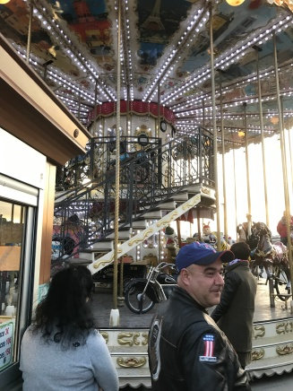 A two story carousel!