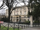 The American Consulate. Not pictured: the enormous amounts of guns the gendarmerie was carrying.
